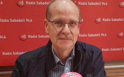 Ramon Alberich, aquest matí, a l'estudi 1 de Ràdio Sabadell 94.6