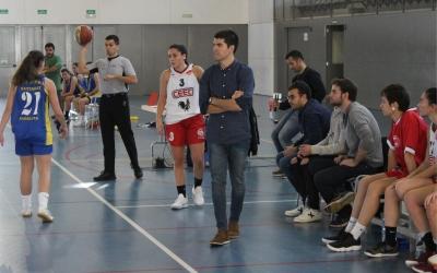 Fernández, dirigint un partit de la temporada passada | Arxiu RS