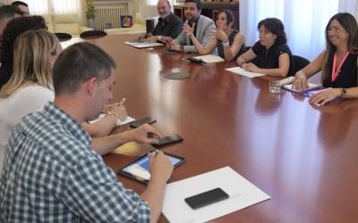Primera reunió de treball del nou govern de Sabadell | Roger Benet