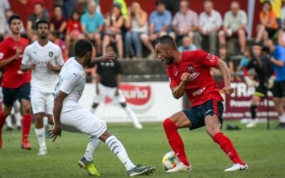 L'Olot va guanyar l'Al Sadd en l'últim partit jugat per l'equip de Xavi Hernández | UEO1921