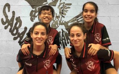 Equip femení de Falcons que enguany ha assolit l'ascens a Divisió d'Honor | Falcons