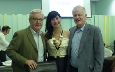 Acte del canvi de collar al Rotary Club Sabadell | Cedida
