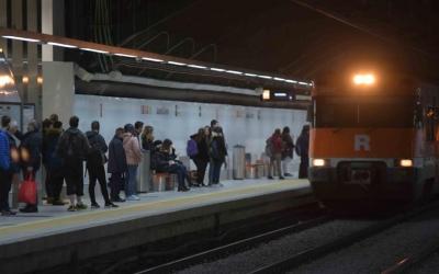 La línia R4, la que passa per Sabadell, és la més utilitzada a Catalunya | Roger Benet