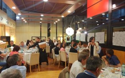 El sopar de la Xarxa Onion s'ha celebrat al Club de Tennis Sabadell | Pere Gallifa