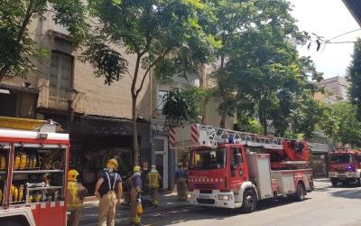Tres dotacions de bombers han extingit al foc  | Raquel García
