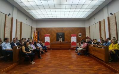 Ple constitutiu del Consell Comarcal | Pere Gallifa