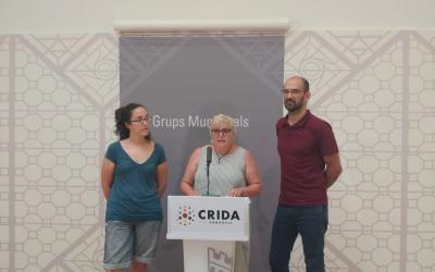 D'esquerra a dreta, Anna Lara, Nani Valero i Maties Serracant | Ràdio Sabadell