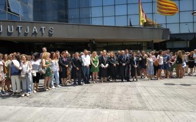 La justícia sabadellenca protesta per l'estat dels Jutjats de Sabadell | Col·legi de l'Advocacia de Sabadell