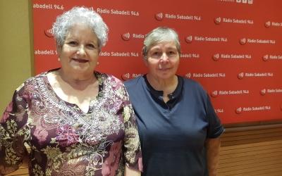Manoli Espada i Esther Lopera, vicepresidenta i presidenta de l'Organització Funerària Can Deu | Raquel Garcia