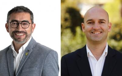 Gabriel Fernández (esquerra) i Adrián Hernández (dreta) | Cedides