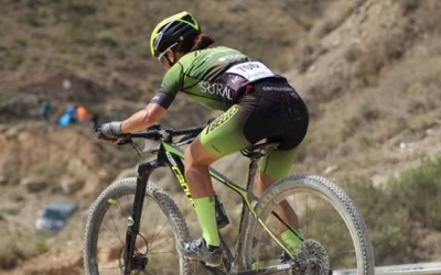 Mercè Pacios ve de quedar sisena al Campionat d'Espanya XCO. | Instagram