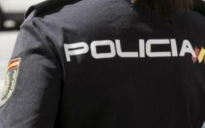 Imatge d'un agent de la Policia Nacional | Cedida