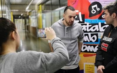 Nel·lo C durant una entrevista | Instagram Nel·lo C