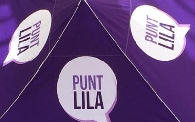 Imatge de la carpa lila de Palau-solità/ Cedida
