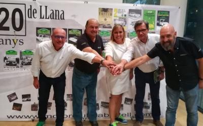 Tati Sanchís (FCA), Joan Molas (MCS), Laura Reyes (Ajuntament), Salvador Espinal (Autosi) i Jaume Marco (MCS). | Sergi Park