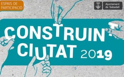 Logotip del construint ciutat 2019 | Cedida