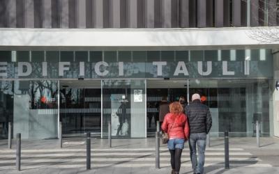 Exterior de l'edifici Taulí, en una imatge d'arxiu/ Roger Benet