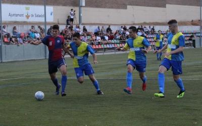 El duel sabadellenc entre el Mercantil i el Sabadell Nord se'l va adjudicar l'equip blaugrana | Mercantil