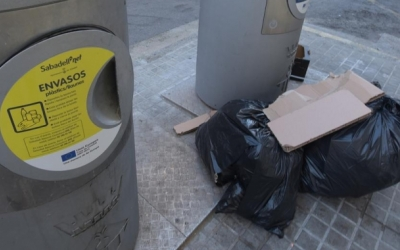 Un contenidor de recollida pneumàtica | Roger Benet