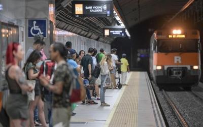 Sabadell Centre aquest migdia | Roger Benet