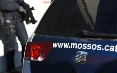 Un vehicle de Mossos d'Esquadra/ Arxiu Roger Benet
