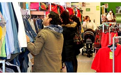Imatge d'una de les botigues d'Humana/ Cedida