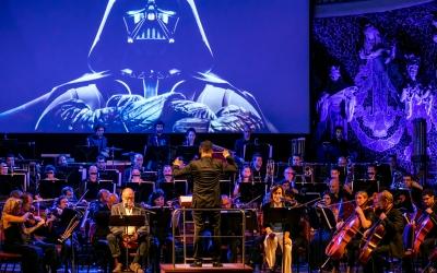 Imatge d'un dels concerts de bandes sonores de l'OSV /Juanma Peláez