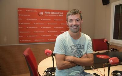 Tarrés, després de l'entrevista a Ràdio Sabadell | Roger Benet
