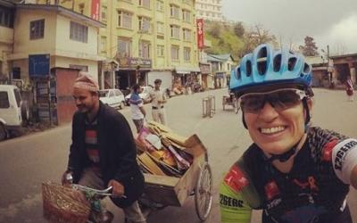 Xinxó es troba a l'Índia des de fa uns dies. | Instagram