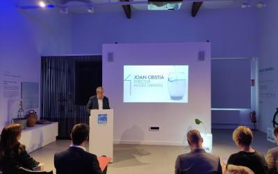 El director general de CASSA, JoanSubirà, en la commemoració del Dia de la Transparència | Pau Duran