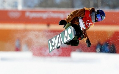 Castellet a la final dels últims Jocs, a PyeongChang | Nacho Casares (COE)