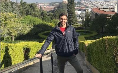 Iker Pajares va arribar ahir a San Francisco | Instagram