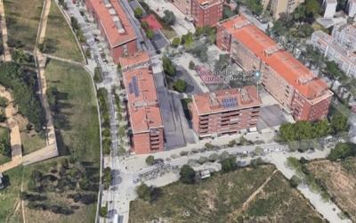 Imatge aèria del bloc del carrer Tenerife | Google Maps