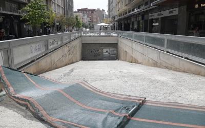 Entrada de l'aparcament des del Passeig Manresa | Roger Benet