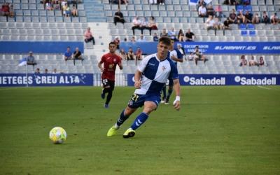 El gallec Aarón Rey, en el darrer partit a casa contra La Nucía | Críspulo Díaz