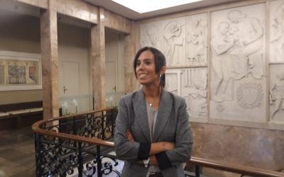Marta Farrés, després d'anunciar el canvi de data | Ràdio Sabadell