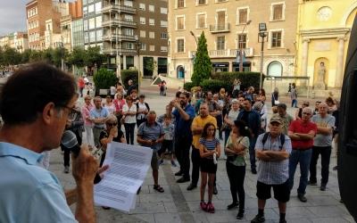 Moment de la lectura del manifest | Helena Molist