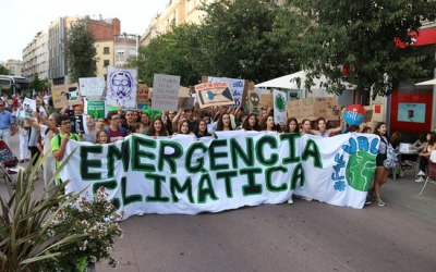 Imatge de la capçalera de la manifestació | ACN