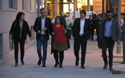 Els advocats dels acusats arriben a l'Audiència Nacional | ACN