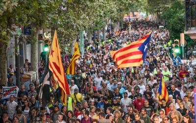 Unes 12.000 persones es manifesten a Sabadell en suport als CDR empresonats | Roger Benet
