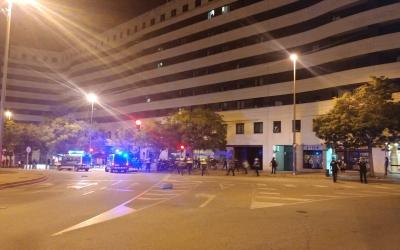 Els Mossos van carregar a plaça Catalunya | Pere Gallifa
