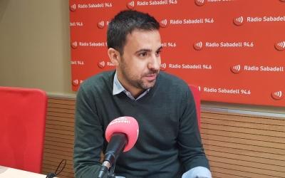 El portaveu del govern, Pol Gibert | Ràdio Sabadell