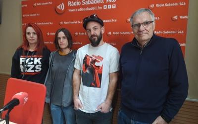 D'esquerra a dreta, Clara Borrero, Anna Bala, David Burdia i David Ros | Ràdio Sabadell