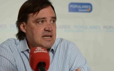 Esteban Gesa, president del PP, en una fotografia d'arxiu