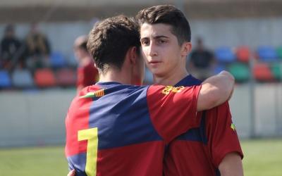 Marc Ruano va marcar el gol mercantilista i va estar a punt de fer el segon | Adrián Arroyo