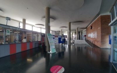 Vestíbul del campus de la UAB de Sabadell/ Arxiu Ràdio Sabadell
