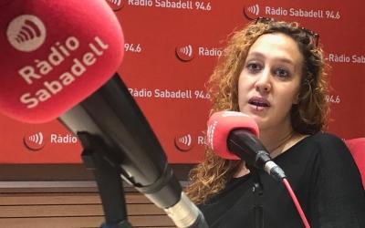 Martín, als estudis de Ràdio Sabadell | Adrián Arroyo
