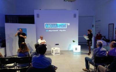 Plàcid Garcia-Planas en el moment de la xerrada | Helena Molist