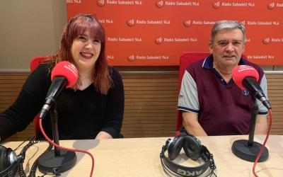 Els membres del Centro Aragonés de Sabadell Paula Muñoz i Javier Ortega |Mireia Sans