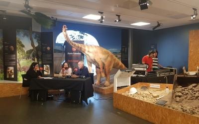 Imatge del museu de l'ICP, durant l'especial de 'El Cafè de la Ràdio'/ Ràdio Sabadell